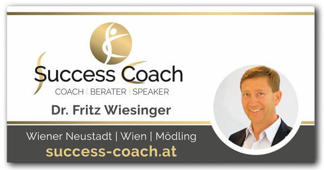 Success Coach Dr. Fritz Wiesinger Kontakt