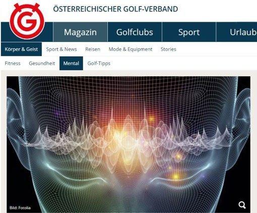 Österreichischer Golfverband Mental Wiesinger Visualisierung