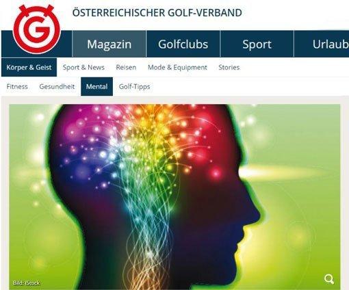 Österreichischer Golfverband Mental Wiesinger Störeinflüsse
