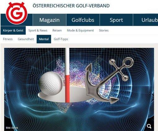 Österreichischer Golfverband Mental Wiesinger Ankern