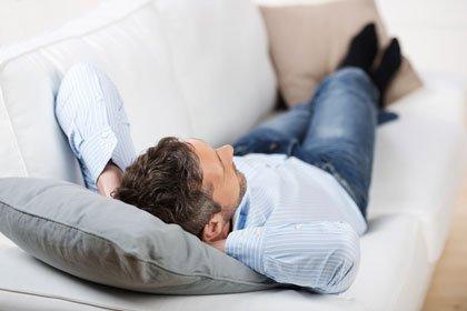 Entspannung Mann