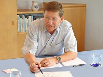 Beratung mit Dr. Wiesinger