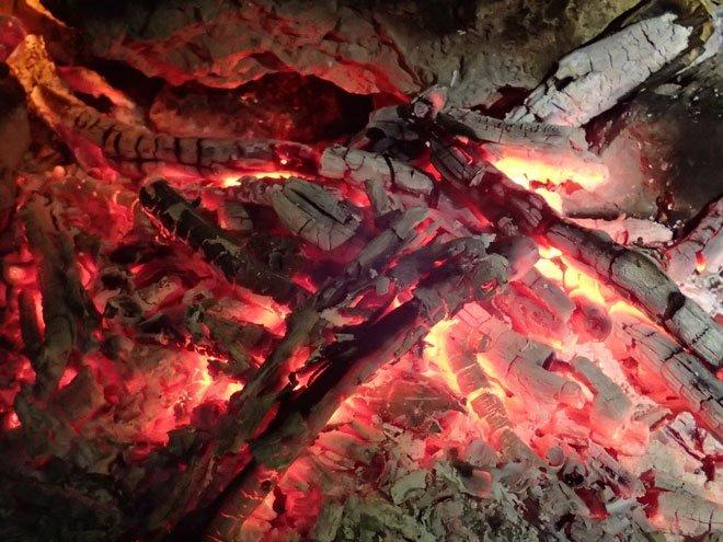 Element Feuer Glut