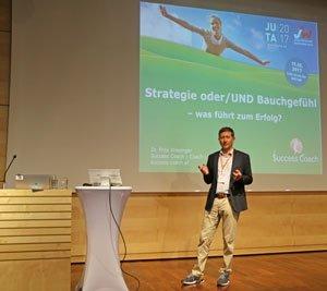 Jungunternehmertag Vortrag Strategie - Intuition