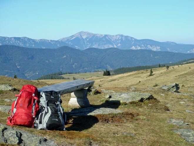 Outdoor Coaching Bilder - Beispiel Weitblick