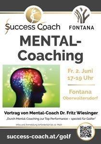Plakat Mental-Coaching Vortrag Fontana